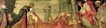 Esther Before Ahasuerus | Jacopo Robusti Tintoretto | oil painting