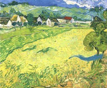 View of Vessenots Near Auvers | Vincent Van Gogh | oil painting