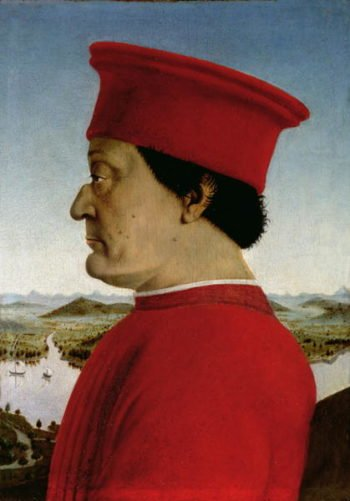 Federigo da Montefeltro | Piero della Francesca | oil painting