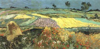 Wheat Fields near Auvers   Vincent Van Gogh   oil painting