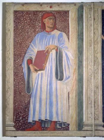Giovanni Boccaccio | Andrea del Castagno | oil painting