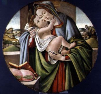 Madonna and Child | Sandro Botticelli | oil painting