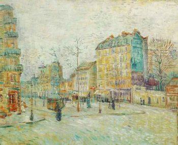 Boulevard de Clichy | Vincent Van Gogh | oil painting