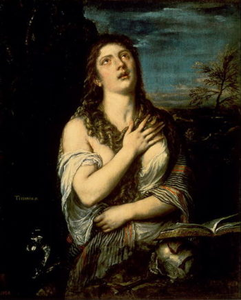 Mary Magdalene 1561 | Titian | oil painting