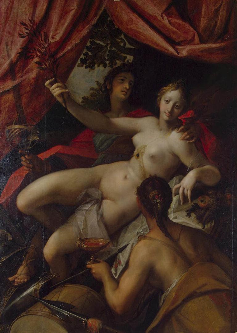 Allegory of Peace Art and Abundance | Aachen Hans van | oil painting