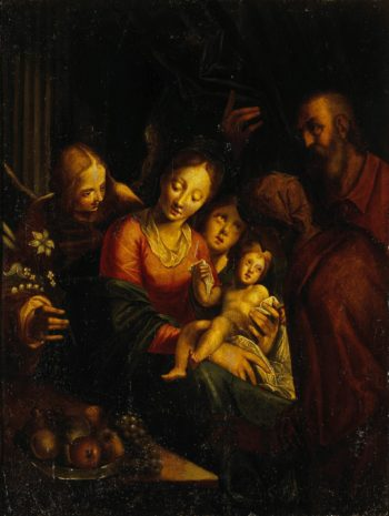 The Holy Family   Aachen Hans von   oil painting