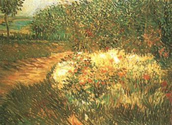 Corner of Voyer d'Argenson Park at Asnieres | Vincent Van Gogh | oil painting