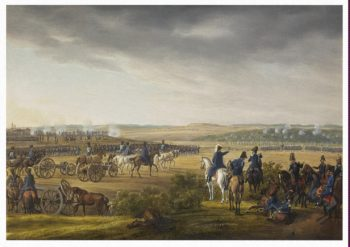 Battle of Moscow on 7 September 1812 | Adam Albrecht | oil painting