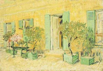 Exterior of a Restaurant at Asnieres | Vincent Van Gogh | oil painting