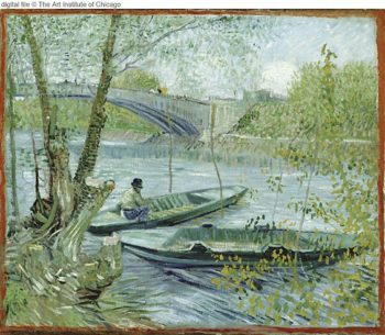 Fishing in Spring | Vincent Van Gogh | oil painting