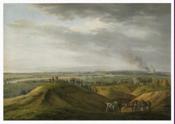 In the Environs of Moscow on 14 September 1812 | Adam Albrecht | oil painting