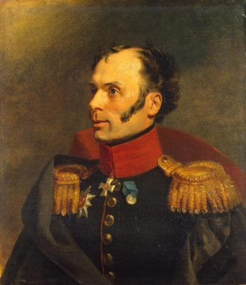 Portrait of Pavel I. Neudhardt (1779-1830)   George Dawe   oil painting