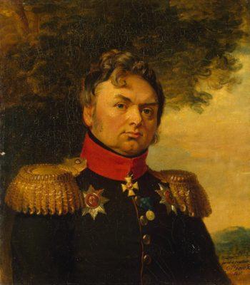 Portrait of Pavel N. Choglokov (1774-1832)   George Dawe   oil painting