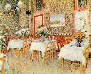 Interior of a Restaurant | Vincent Van Gogh | oil painting