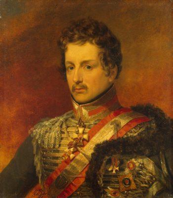 Portrait of Pavel P. Pahlen (1775-1834) (2nd) | George Dawe | oil painting