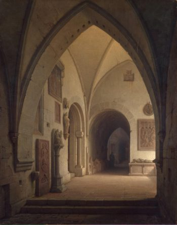 Interior of a Church | Ainmiller Max Emanuel | oil painting