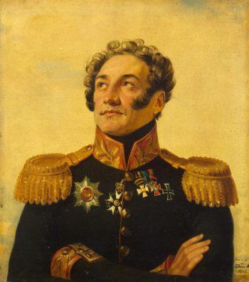 Portrait of Platon I. Kablukov (1779-1835) (1st)   George Dawe   oil painting