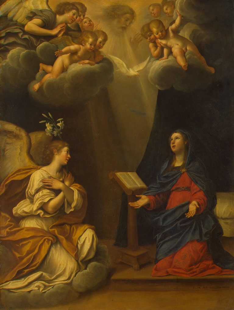 Annunciation | Albani Francesco | oil painting