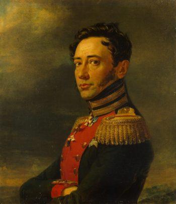 Portrait of Pyotr F. Zheltukhin (1777-1829) (replica of the 1823 portrait) | George Dawe | oil painting