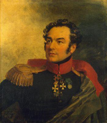 Portrait of Pyotr I. Balabin (1779-1855)   George Dawe   oil painting