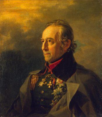 Portrait of Pyotr K. Suchtelen (1751-1836) (1st)   George Dawe   oil painting