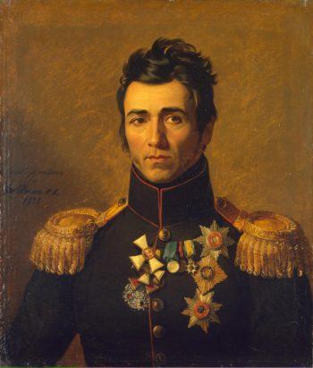 Portrait of Pyotr M. Kaptsevich (1772-1840) | George Dawe | oil painting