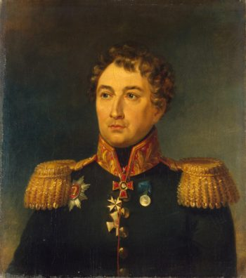 Portrait of Pyotr M. Kolyubakin (1763 - after 1814)   George Dawe   oil painting