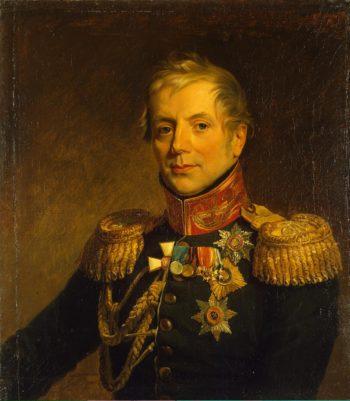 Portrait of Pyotr P. Konovnitsyn (1764-1822) (replica of the 1821 portrait) | George Dawe | oil painting