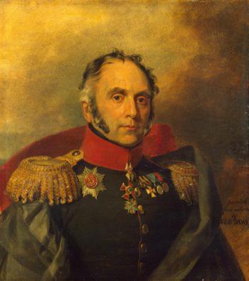 Portrait of Pyotr P. Schroeder (1770-1824) | George Dawe | oil painting