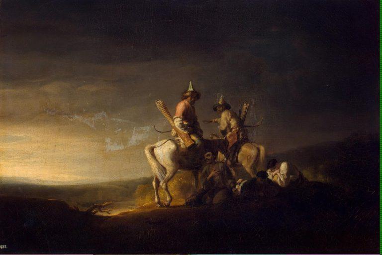 Bashkirs   Allan William   oil painting
