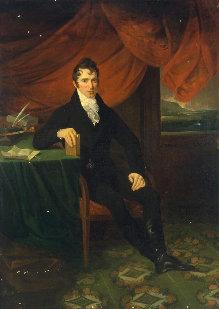 Portrait of a Man | Allan William | oil painting
