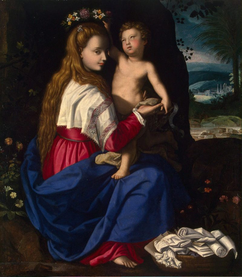 Allegory of the Christian Church | Allori Alessandro | oil painting