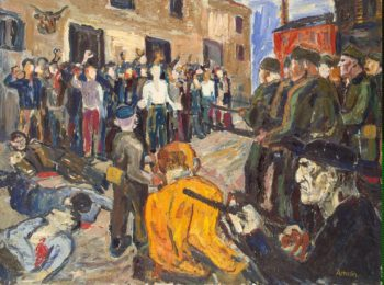 Civilization in General Francos Way | Amelin Albin | oil painting