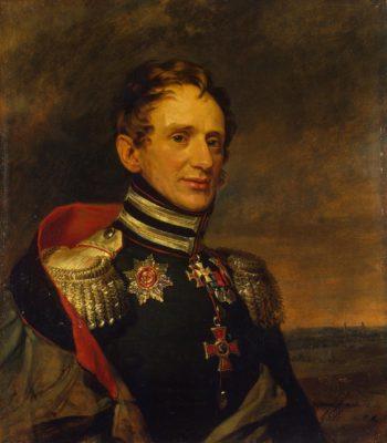 Portrait of Yegor K. Sievers (1779-1827) (3rd) | George Dawe | oil painting