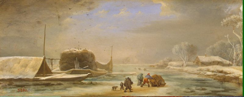 Winter Landscape | Asselijn Jan | oil painting
