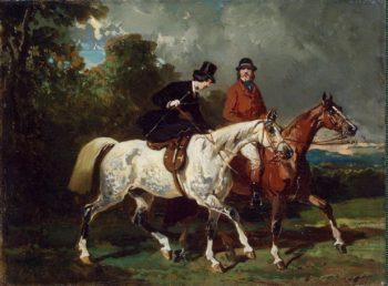 Ride | De Dreux Alfred | oil painting
