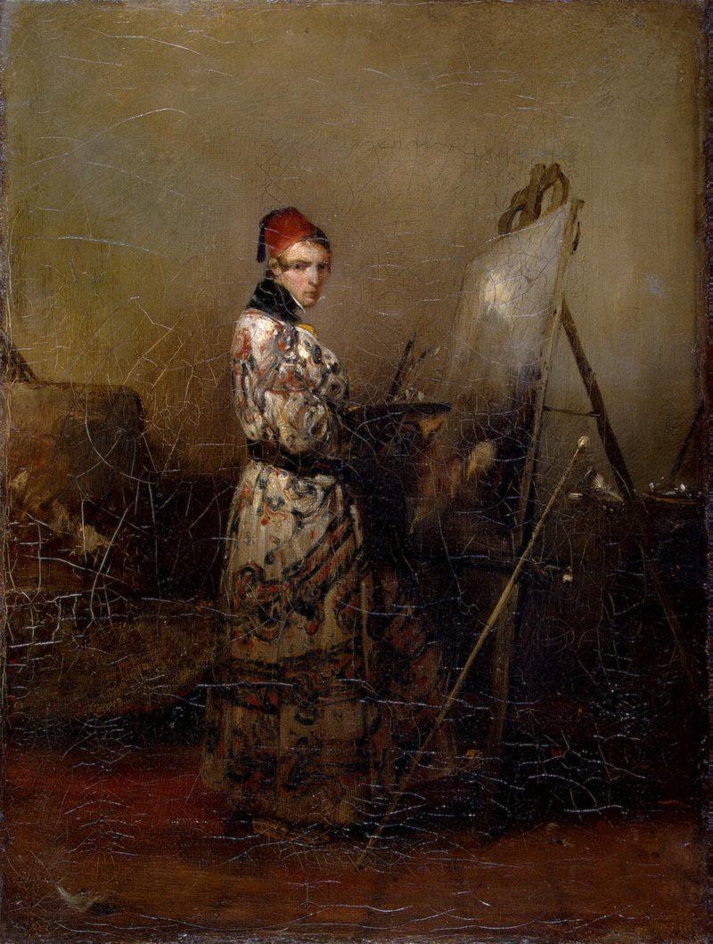 Self-Portrait | Decamps Alexandre-Gabriel | oil painting