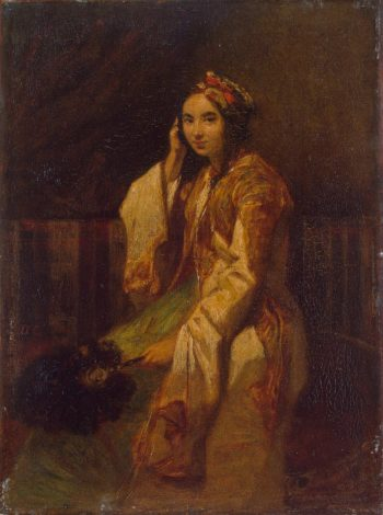 Woman in Oriental Dress | Decamps Alexandre-Gabriel | oil painting