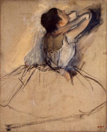 Dancer   Degas Edgar   oil painting