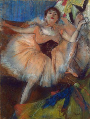 Seated Dancer | Degas Edgar | oil painting