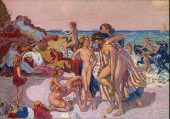 Bacchus and Ariadne | Denis Maurice | oil painting