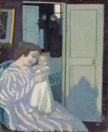 Mother and Child | Denis Maurice | oil painting