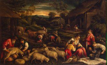 Summer   Bassano Francesco (Francesco da Ponte)   oil painting
