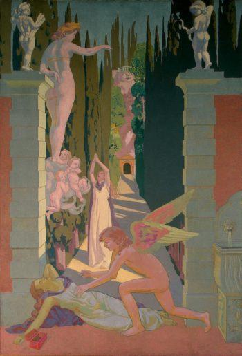 Panel 4. The Vengeance of Venus | Denis Maurice | oil painting