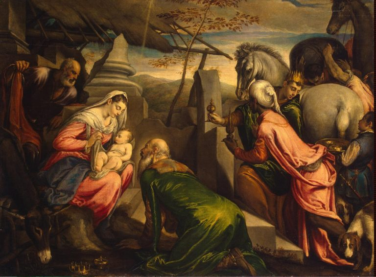 Adoration of the Magi | Bassano Jacopo and Francesco | oil painting