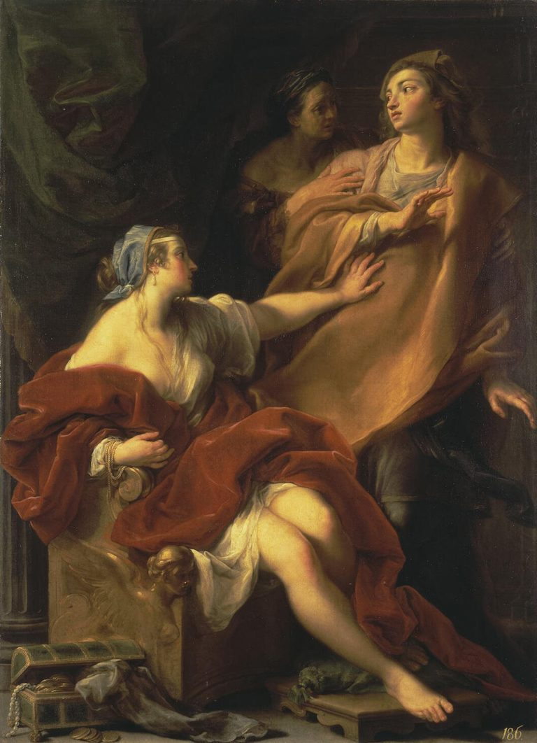 Allegory of Voluptuousness | Batoni Pompeo | oil painting