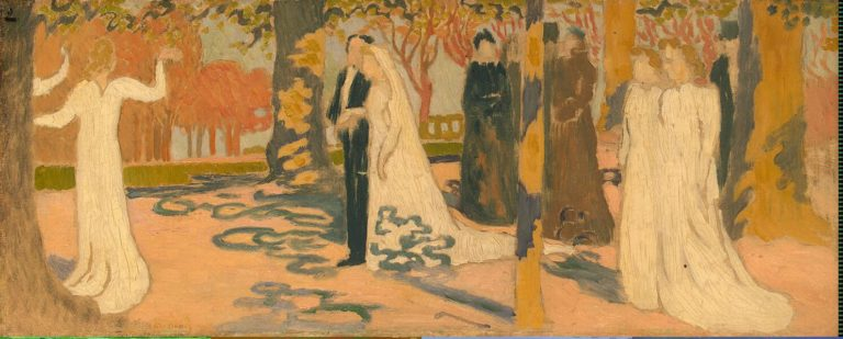 Wedding Procession | Denis Maurice | oil painting