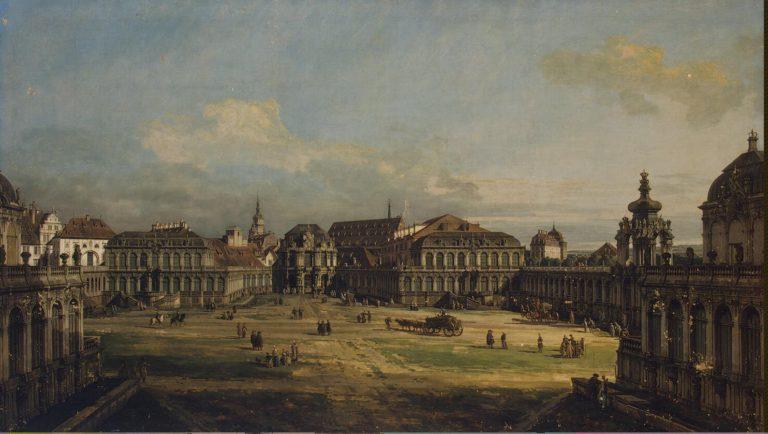 Zwinger in Dresden | Bellotto Bernardo | oil painting
