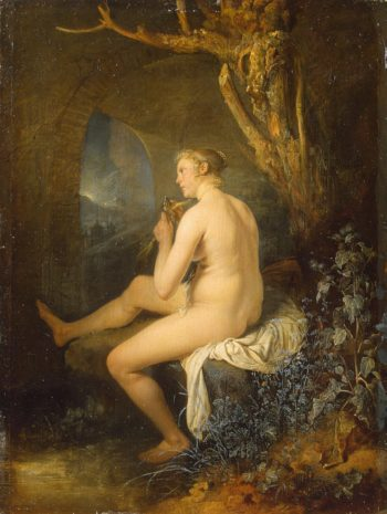 Woman Bather | Dou Gerard | oil painting