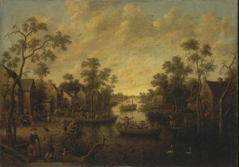 Rural Feast | Droochsloot Jost Cornelisz | oil painting